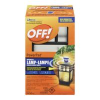 Off Powerpad Mosquito Lamp Insect