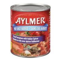 Aylmer N Salt Add Ital Diced Tomato