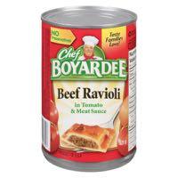 Chef Boyardee Beef Ravioli Can Meal