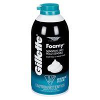 Gillfoamy Shave Cream Sens Skin