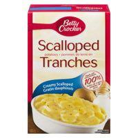 Betty Crockr Scalloped Potato