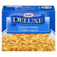 Kraft Deluxe Macaroni Nood Meal