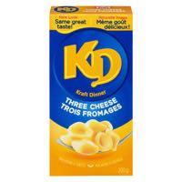 Kraft Dinner 3 Cheese Nood Meal
