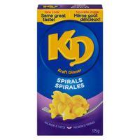 Kraft Dinner Spiral Nood Meal