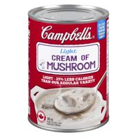 Campbells Cream Mushr Light Soup R T S