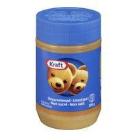 Kraft Unsweet Unsalted Peanut Butter