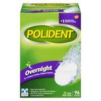 Polident Overnight Denture Prod 96Tab