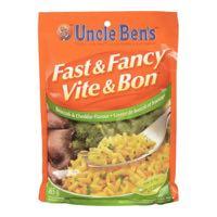 Fast Fancy Broccoli Cheddar Rice