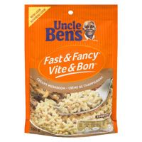 Fast Fancy Mushroom Rice