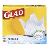 Glad 19 5X20In Reg Febr Ind Bag